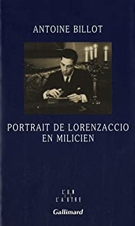Portrait de Lorenzaccio en milicien par Antoine Billot