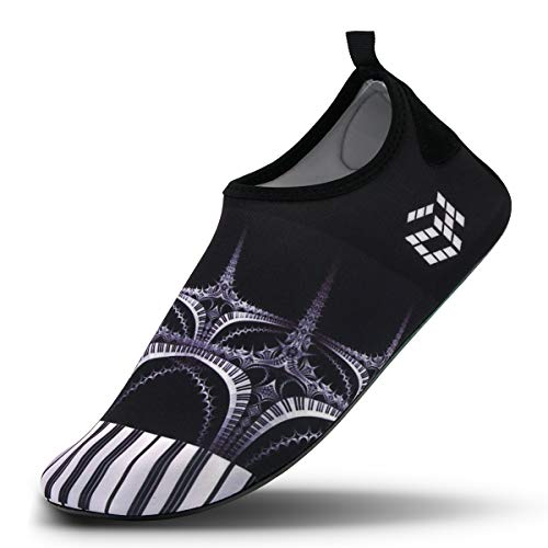 for Piano Socks Womens Swim Dry Beach Water Aqua Vaincre and Barefoot Exercise Yoga Quick Surf Mens Shoes vFxaqzAw