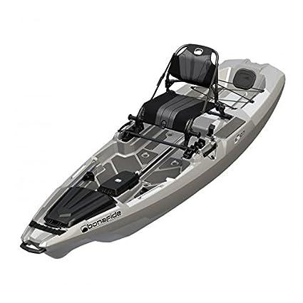 amazon com bonafide ss107 fishing kayak in top gun grey in stock