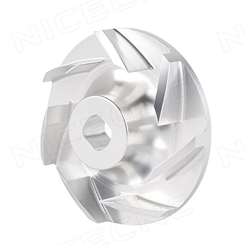 NICECNC Billet Aluminum Water Pump Impeller for Polaris Ranger 700 & 800 (XP Crew 6x6 models) 2005-2014 RZR 800 (All) 2008-2014 Sportsman 600 700 800 2002-2014 Replace (Polaris Water)
