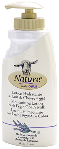 Canus Goat's Milk Goat's Milk Nature Moisturizing Lotion With Fresh Goats Milk Lavender Oil, 11.8 Oz