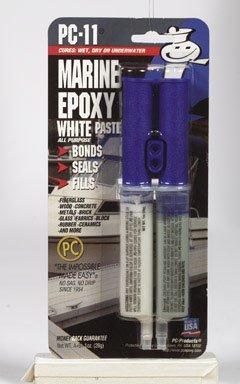 Epoxy Marine Paste (PC Products 010112 1 Oz White Marine Epoxy Paste)