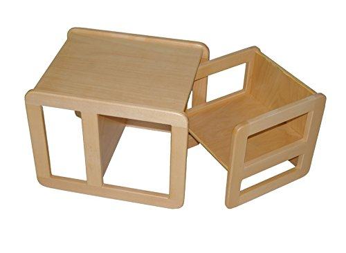 Max Kombihocker Mehrzweckstuhl Tisch 2er Set