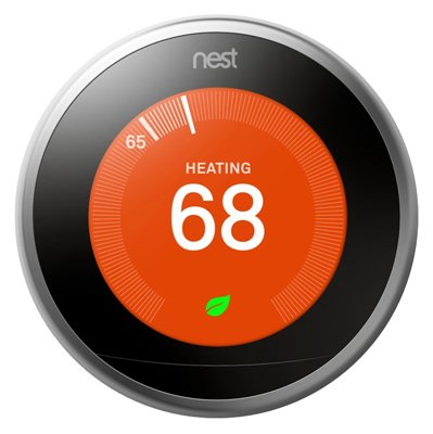 Nest Labs T3007ES Programmable Thermostat, 3rd Generation, Wi-Fi Enabled - Quantity 4