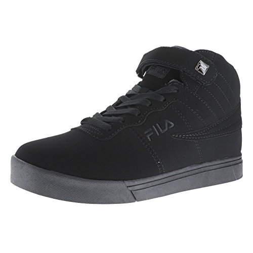 Fila Vulc 13 Mid Plus Black/Black/Black Mens Walking Shoe Size - Mens Fila Boots
