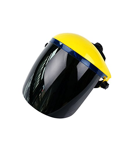 Buy welding face shield green