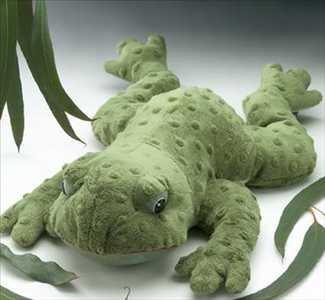 Sonoma Lavender Eucalyptus Heat Plush Frog (Silky Plush Frog)