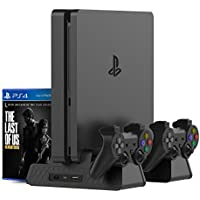 Kootek Vertical Stand for PS4 Slim / PS4 Pro / Regular...
