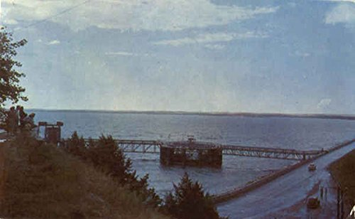 Beautiful Lake McConaughy And Kingsley Dam Ogallala, Nebraska Original Vintage Postcard by CardCow Vintage...