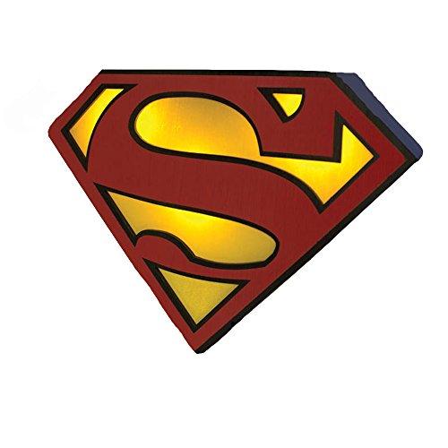 Superman Logo Night Light