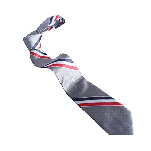 Fashion Red White Blue Stripes Tie Gift Boxed Men Tie New Tie Necktie