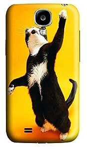 Samsung S4 Case Cats boss 3D Custom Samsung S4 Case Cover