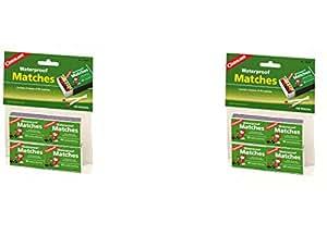 Coghlan's 940BP Waterproof Matches, 4 pack (8 Packs)