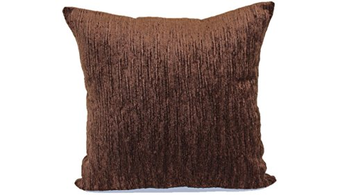 Brentwood Originals 1820 Latham Toss Pillow, 18-Inch, Coffee ()
