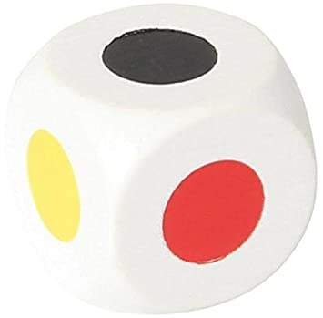 Farbwürfel 25 mm, weiß, 6 Farben: Amazon.de: Spielzeug