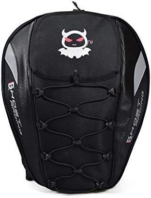 多機能スポーツバックパック/オートバイテールバッグレーシングバックシートバッグバックパックナイトヘルメット機関車高容量バックパック 絶妙