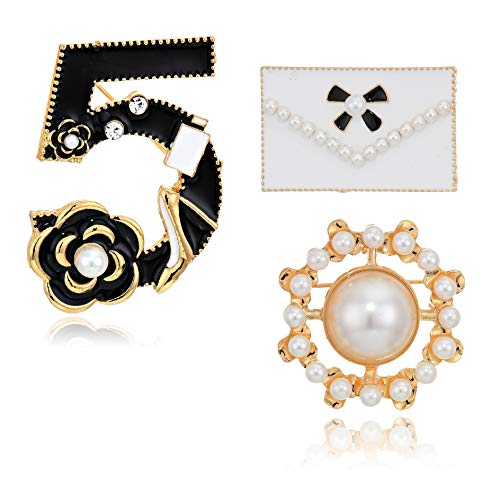 Fashion Jewelry Celebrity Designer Inspired Set of Enamel Mini Lapel Costume brooches pins for Women