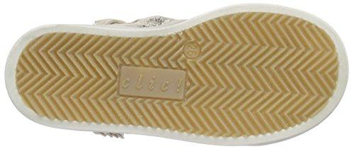 Clic! Sneaker Mädchen High-Top Beige (KIM/BEIG-120/SAND/TE)