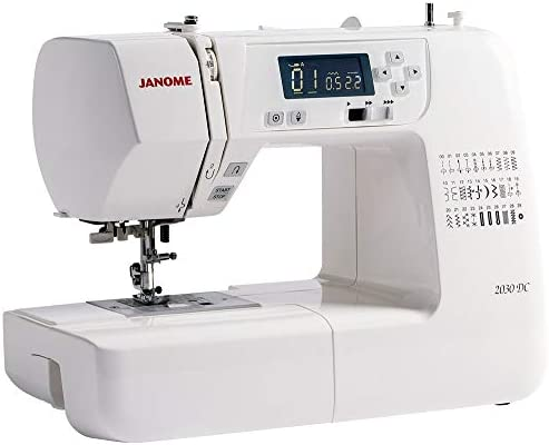 JANOME 2030 DC COMPUTERISED Sewing Machine - 2 Year Warranty ...