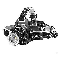 【進化版】Helius LEDヘッドライト USB 充電式 電気出力 高輝度 CR...