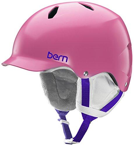 Bern Bandita EPS Thin Shell Helmet - Girls' Satin Pink, S/M