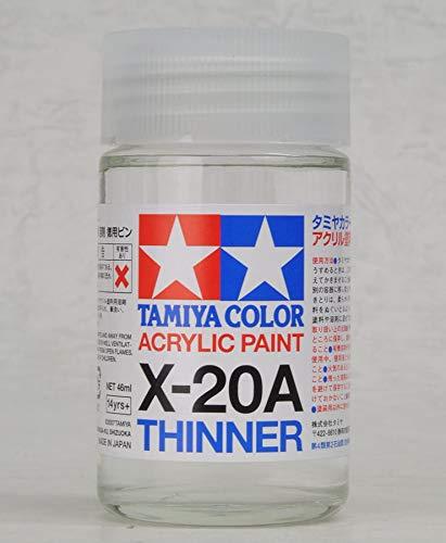 Tamiya Acrylic & Poly Thinner X-20A 46ML 81030