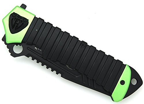 Snake-Eye-Fantasy-Heavy-Duty-Action-Assisted-Folding-Pocket-Knife-5-GREEN-Self-Defense-Everyday-Carry-Outdoors