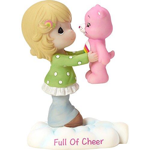 Precious Moments Company 163412 Precious Moments, Care Bears, Full of Cheer, Resin Figurine, 163412,Multi (Care Bears Birthday)