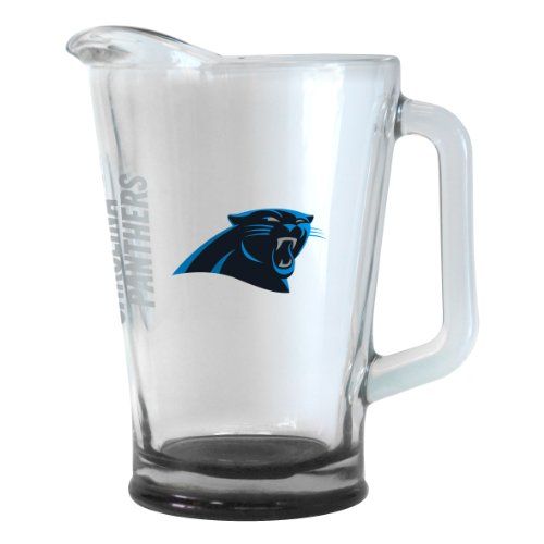 Pitcher Carolina Panthers - Boelter Brands NFL Carolina Panthers Elite Pitcher, 60-Ounce