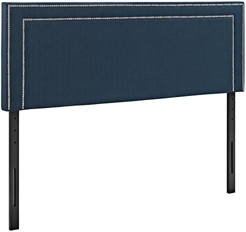 Best modern headboard: Modway Jessamine Upholstered Fabric King Headboard Size