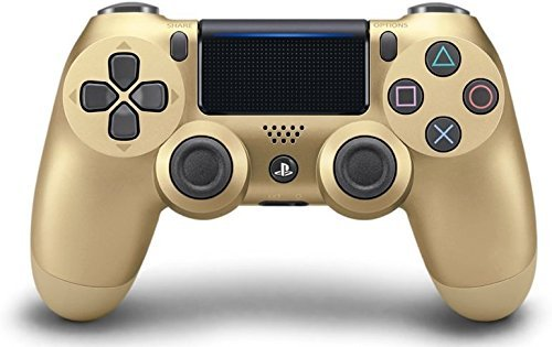The best DualShock 4 Wireless Controller for PlayStation 4 – Gold (Renewed)