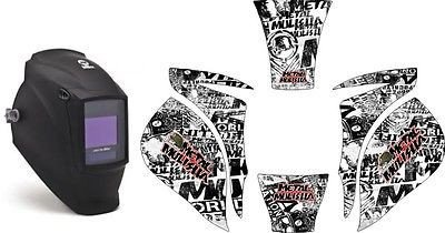MILLER ELITE WELDING HELMET WRAP DECAL STICKER SKINS