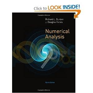 Numerical Analysis J. Douglas Faires, Richard L. Burden