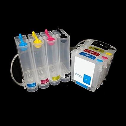 Sistema continuo de tinta para HP 82 – 11 HP DESIGNJET 111 HP ...