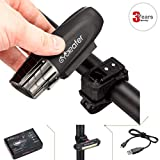 Cycleafer USB Rechargeable Bike Light Set...