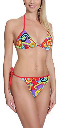 Antie Bikini Conjunto para mujer Majorca Patrón-3