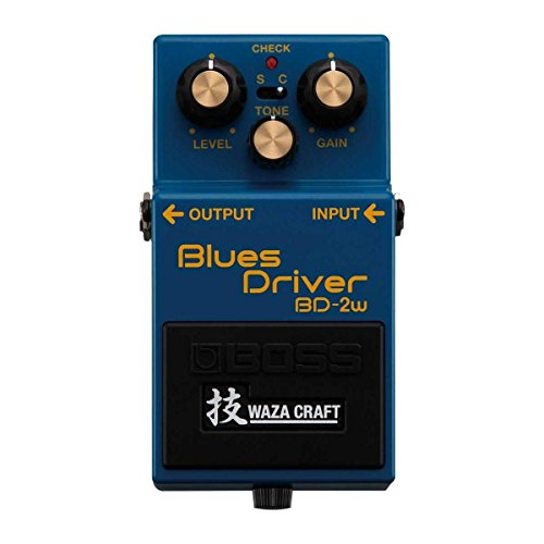 BOSS WAZA CRAFT Blues Driver Guitar Pedal (BD-2W)