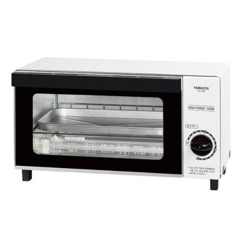 山善(YAMAZEN) オーブントースター(15分タイマー付) ホワイト NT-1000(W)