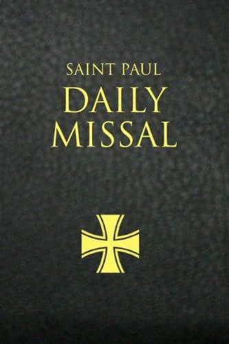 Saint Paul Daily Missal (Black)