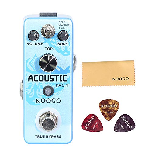 Koogo Acoustic Guitar Effect Pedal Acoustic Guitar