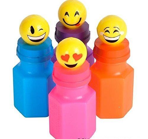 Emoji Bubble Bottles (Package of 24)