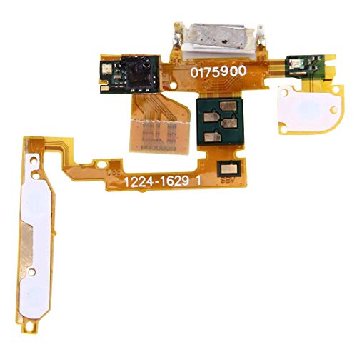 SHUGUO Flex Cable Repair Parts Power Button Flex Cable & Ear Speaker for Sony Ericsson Xperia X10 / X10i / X10a