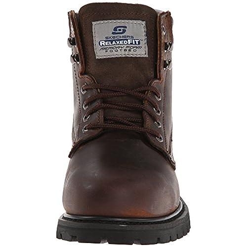 25582030b4d lovely Skechers for Work Men's Foreman Concore Steel-Toe Boot ...