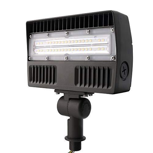 ELECALL LED Flood Light, 30W/3400Lumen, 5000K, Waterproof, IP65, 120-277V, ETL-Listed