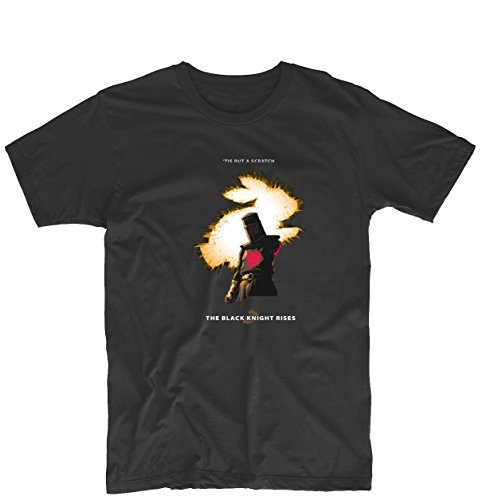 The Black Knight Rises Monty Python and the Holy Grail Unisex Design Tee