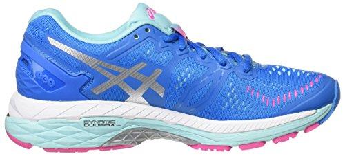 Asics Gel-Kayano 23, Zapatillas de Running para Mujer Azul (Diva Blue/silver/aqua Splash)