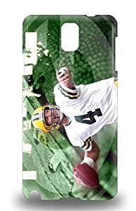 New Arrival Case Cover With Galaxy Design For Galaxy Note 3 NFL Green Bay Packers Brett Favre #4 ( Custom Picture iPhone 6, iPhone 6 PLUS, iPhone 5, iPhone 5S, iPhone 5C, iPhone 4, iPhone 4S,Galaxy S6,Galaxy S5,Galaxy S4,Galaxy S3,Note 3,iPad Mini-Mini 2,iPad Air )