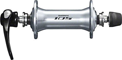 SHIMANO 105 Front Road Bicycle Hub - HB-5800 (Silver - 32H)