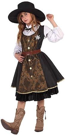 Atosa 6240 - Disfraz de sheriff para niña: Amazon.es: Juguetes y ...