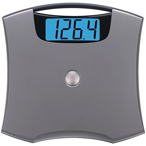 Taylor Digital Bath Scale Lb Kg 440 Lb. Blue
